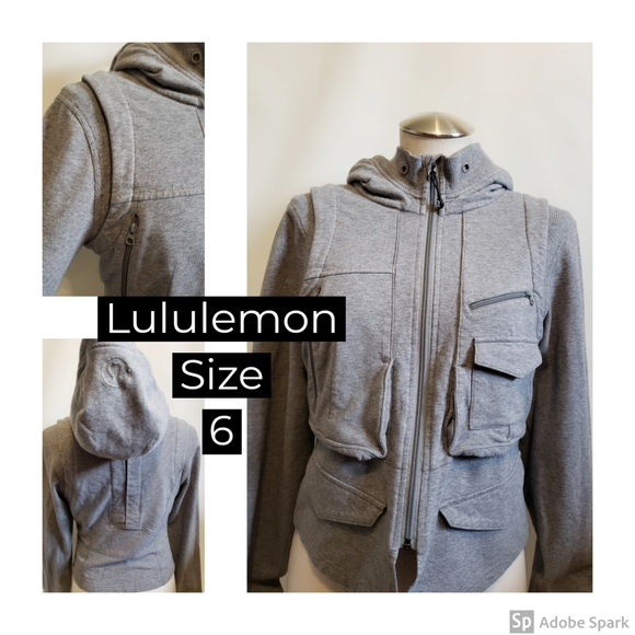Lululemon cargo hoodie